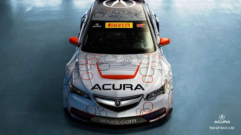2015 Acura TLX GT Racecar Boosts Off 2015 TLX Lanuch with 500Hp Twin-Turbo SH-AWD 10
