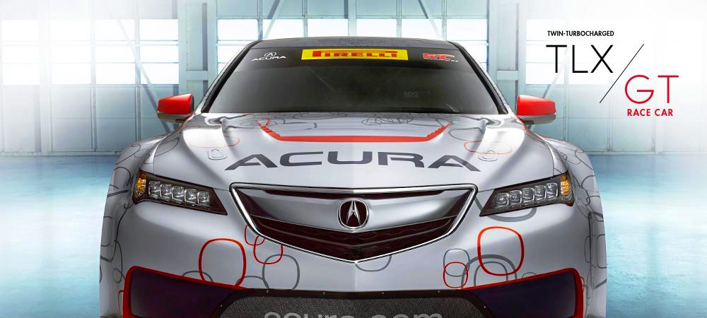 2015 Acura TLX GT Racecar Boosts Off 2015 TLX Lanuch with 500Hp Twin-Turbo SH-AWD 13