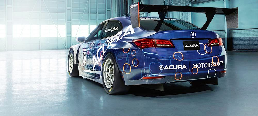 2015 Acura TLX GT Racecar Boosts Off 2015 TLX Lanuch with 500Hp Twin-Turbo SH-AWD 15