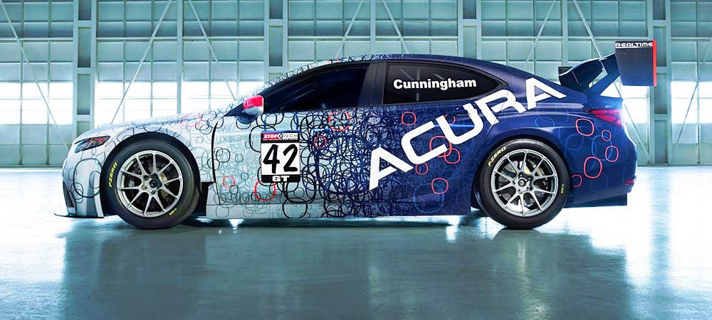 2015 Acura TLX GT Racecar Boosts Off 2015 TLX Lanuch with 500Hp Twin-Turbo SH-AWD 16