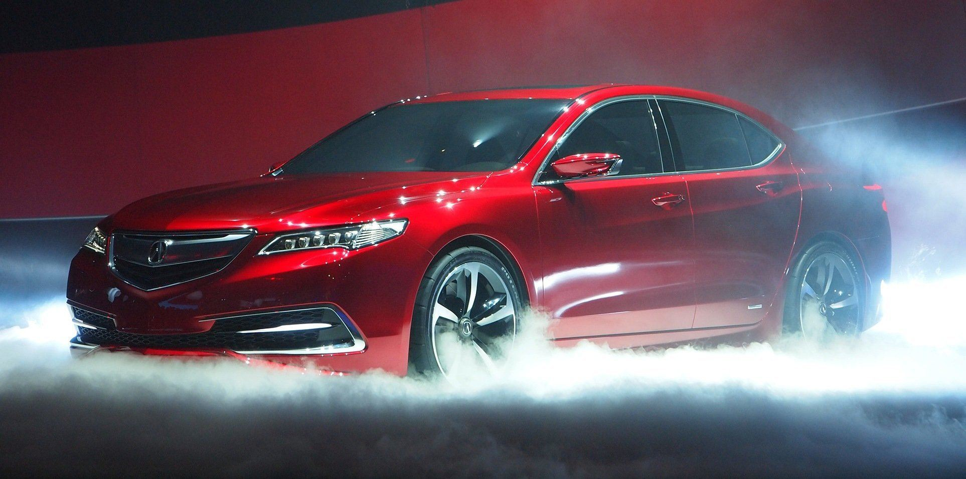 concept to reality acura tlx prototype vs tlx gt racer vs real 2015 tlx production car. Black Bedroom Furniture Sets. Home Design Ideas