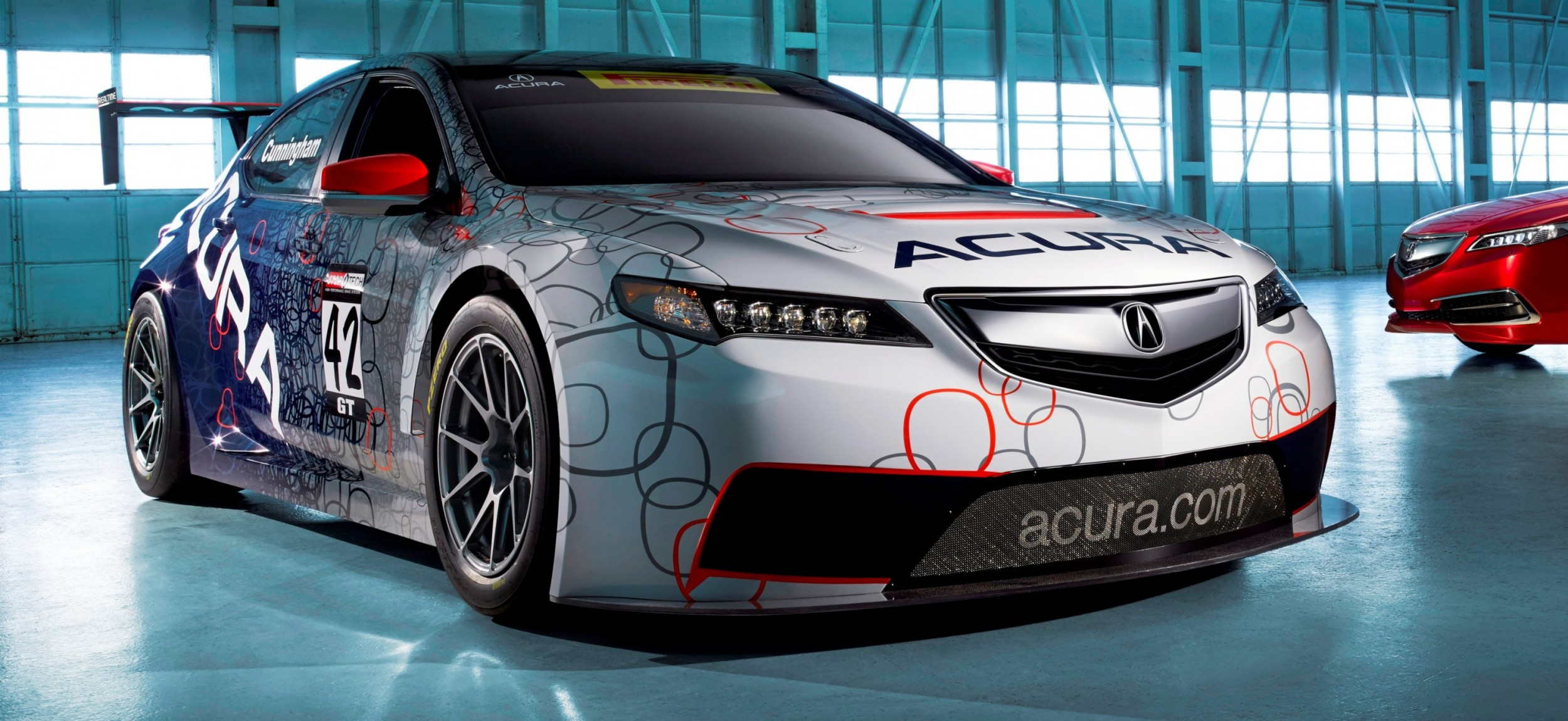 acura tlx gt racecar boosts 2015 tlx launch with 500hp twin turbo sh awd. Black Bedroom Furniture Sets. Home Design Ideas