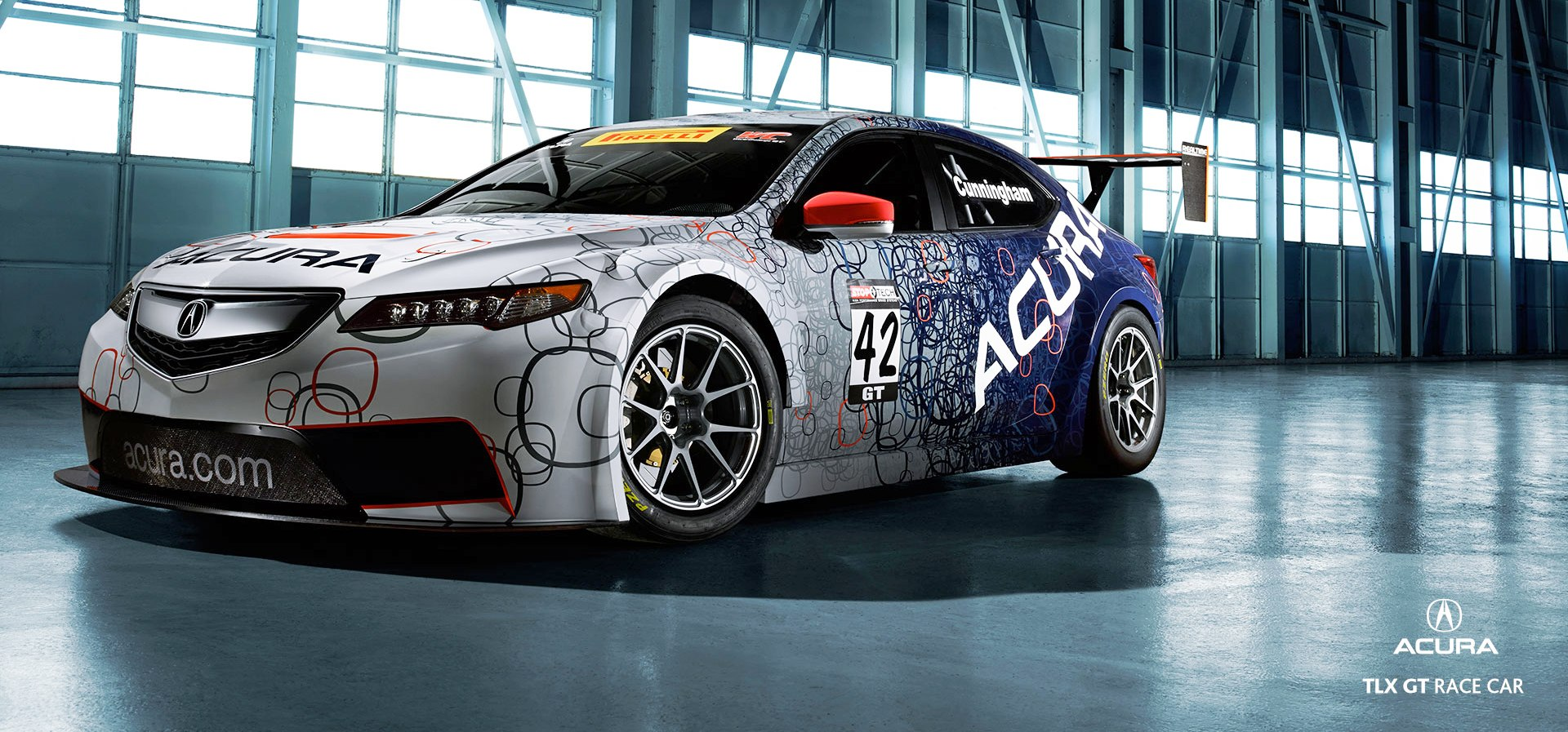 Acura TLX GT Racecar Boosts 2015 TLX Launch with 500Hp Twin-Turbo SH-AWD