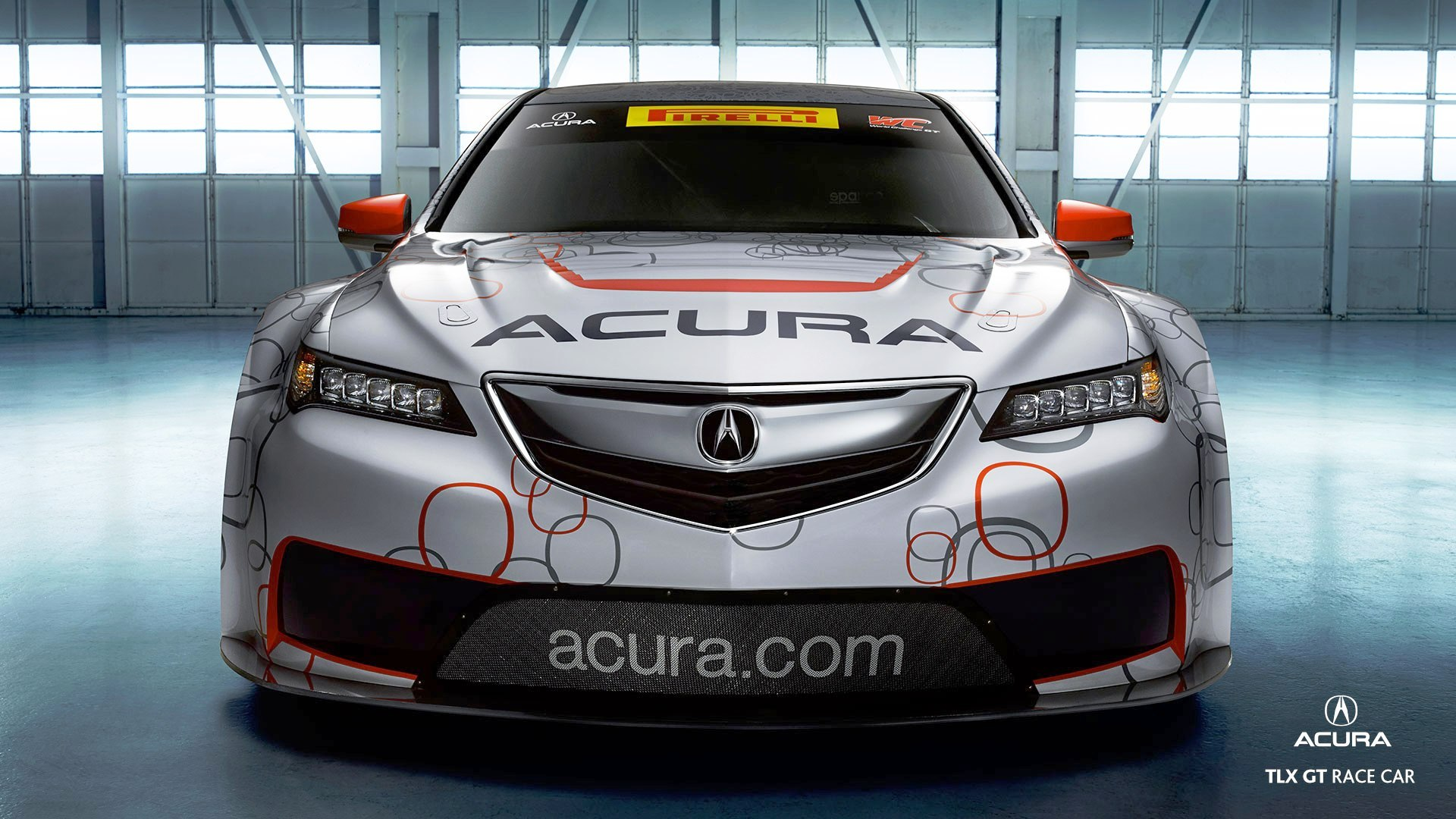 Acura Tlx Gt Racecar Boosts Off Tlx Lanuch With Hp Twin Turbo Sh Awd