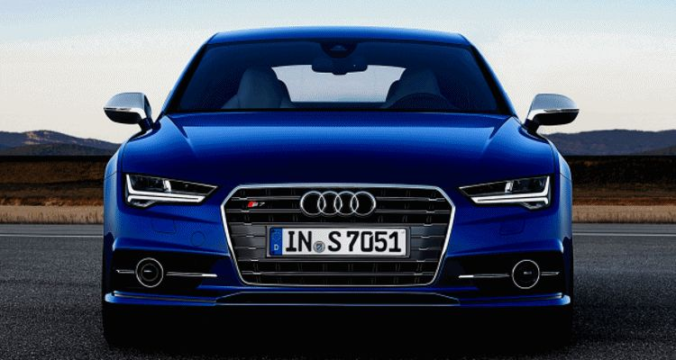 2015 Audi A7 S7 LED header giof
