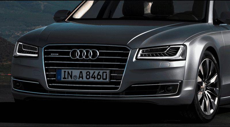 2015 Audi A8 Animation GIF