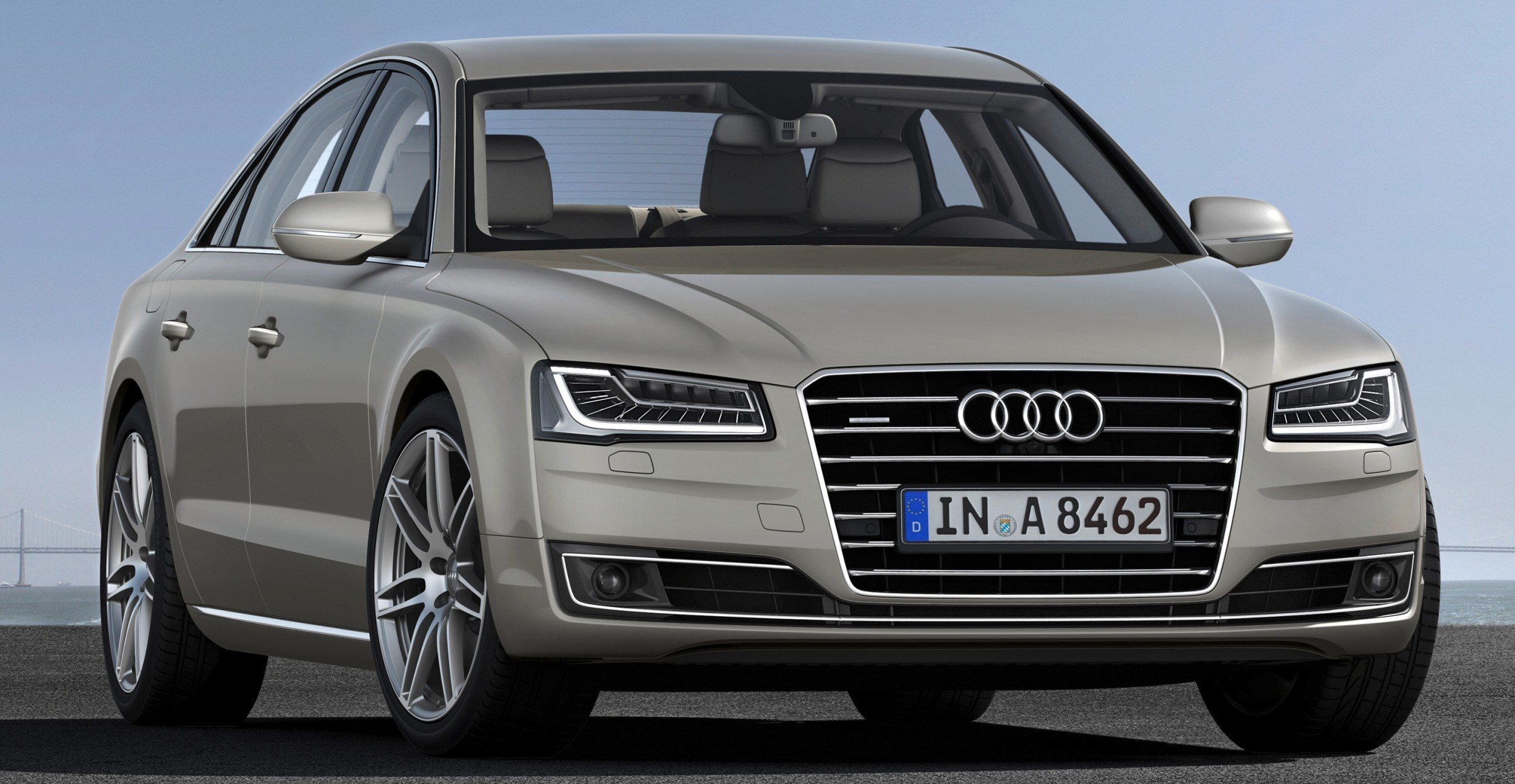 2015 audi a8 limps in with same old man design but adds fwd hybrid and tdi flavors for usa. Black Bedroom Furniture Sets. Home Design Ideas