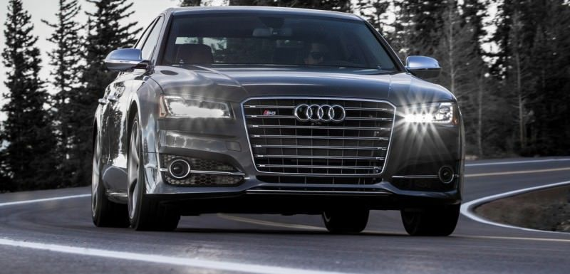 2015 Audi S8 with 520HP and 3.9s to 60MPH Is Quickest and Definitely The Coolest A8  1