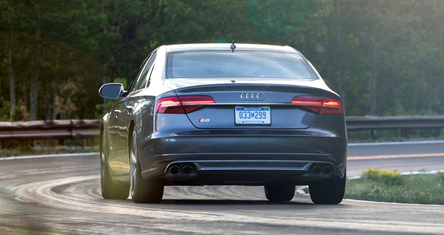 2015 Audi S8 with 520HP and 3