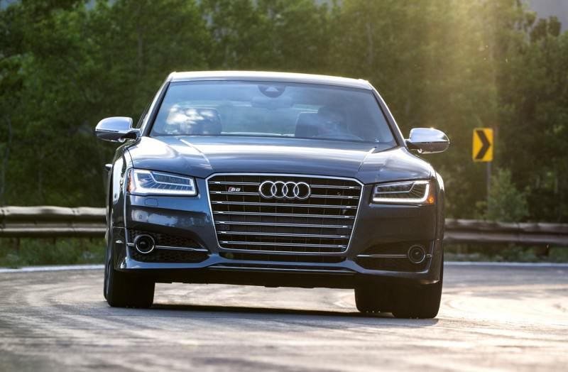 2015 Audi S8 with 520HP and 3.9s to 60MPH Is Quickest and Definitely The Coolest A8  11