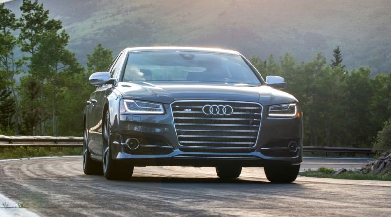 2015 Audi S8 with 520HP and 3.9s to 60MPH Is Quickest and Definitely The Coolest A8  12