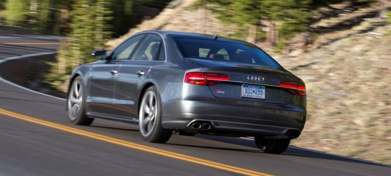 2015 Audi S8 with 520HP and 3.9s to 60MPH Is Quickest and Definitely The Coolest A8  2