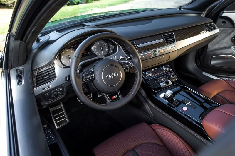 2015 Audi S8 with 520HP and 3.9s to 60MPH Is Quickest and Definitely The Coolest A8  22