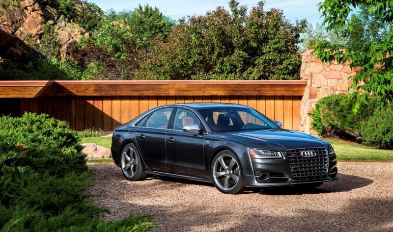 2015 Audi S8 with 520HP and 3.9s to 60MPH Is Quickest and Definitely The Coolest A8  25