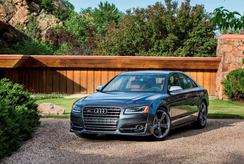 2015 Audi S8 with 520HP and 3.9s to 60MPH Is Quickest and Definitely The Coolest A8  28