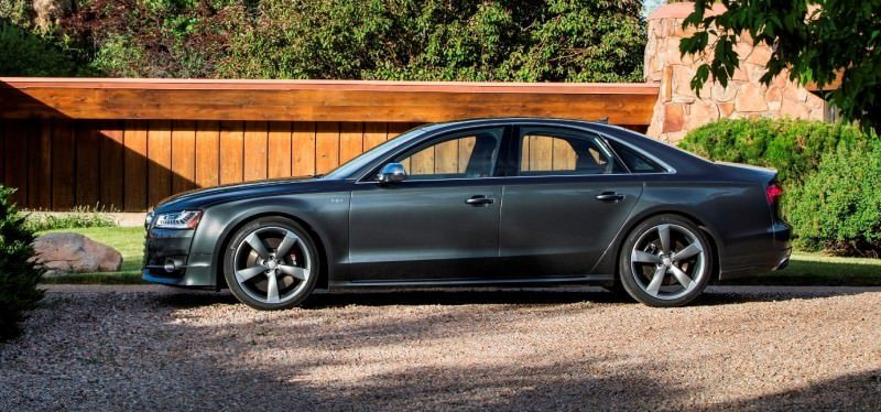 2015 Audi S8 with 520HP and 3.9s to 60MPH Is Quickest and Definitely The Coolest A8  30