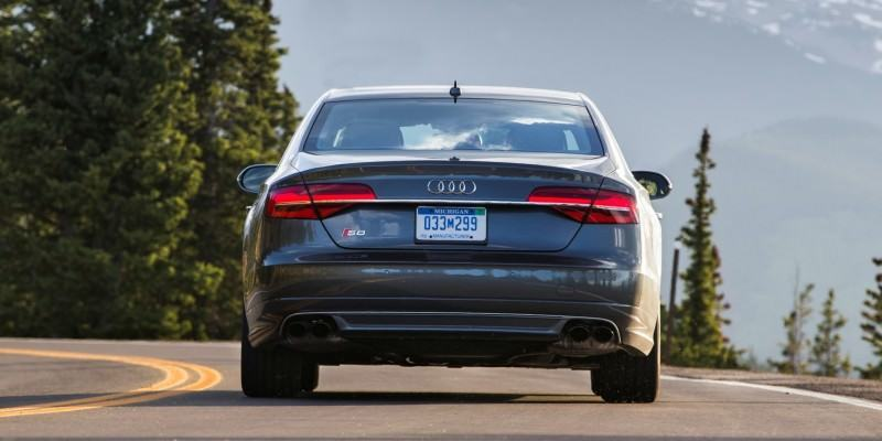 2015 Audi S8 with 520HP and 3.9s to 60MPH Is Quickest and Definitely The Coolest A8  4