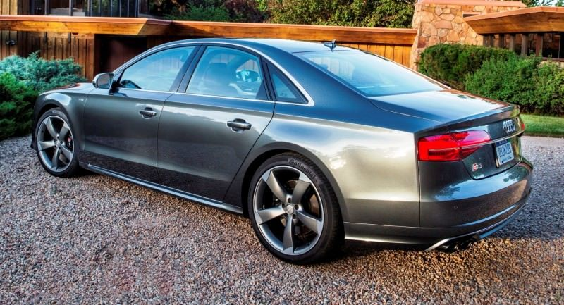 2015 Audi S8 with 520HP and 3.9s to 60MPH Is Quickest and Definitely The Coolest A8  43