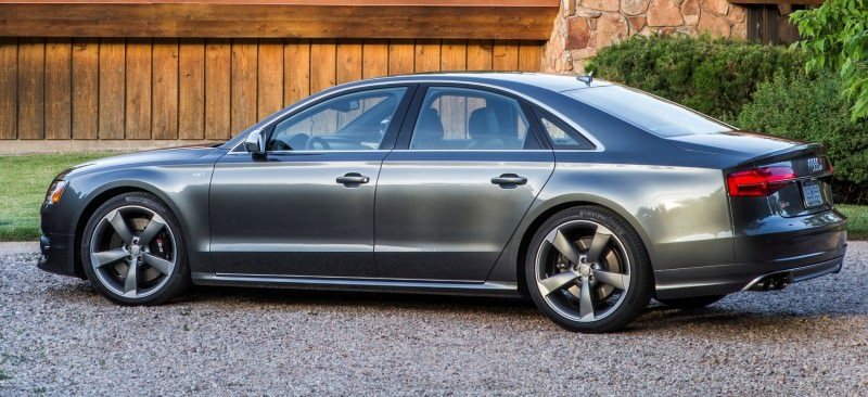 2015 Audi S8 with 520HP and 3.9s to 60MPH Is Quickest and Definitely The Coolest A8  45