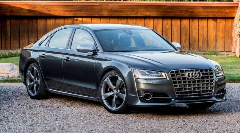 2015 Audi S8 with 520HP and 3.9s to 60MPH Is Quickest and Definitely The Coolest A8  48