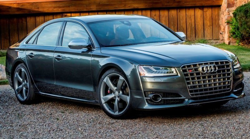 2015 Audi S8 with 520HP and 3.9s to 60MPH Is Quickest and Definitely The Coolest A8  49