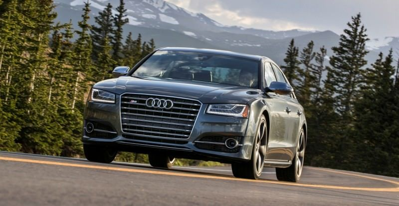 2015 Audi S8 with 520HP and 3.9s to 60MPH Is Quickest and Definitely The Coolest A8  5