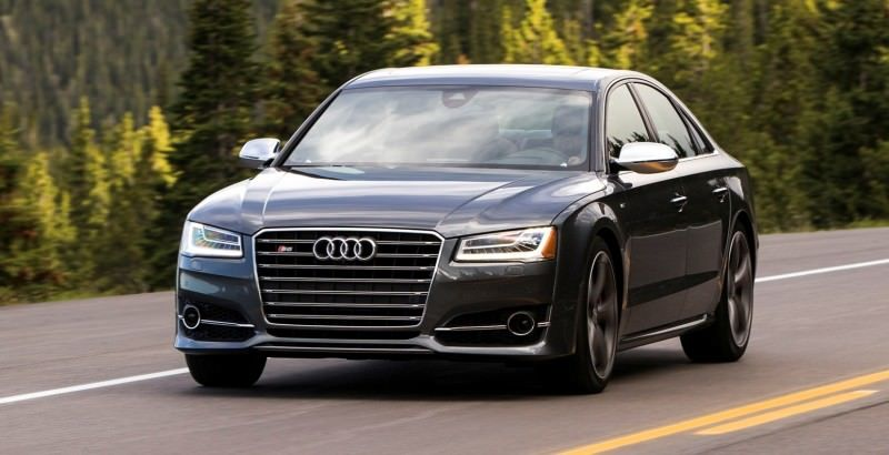 2015 Audi S8 with 520HP and 3.9s to 60MPH Is Quickest and Definitely The Coolest A8  54