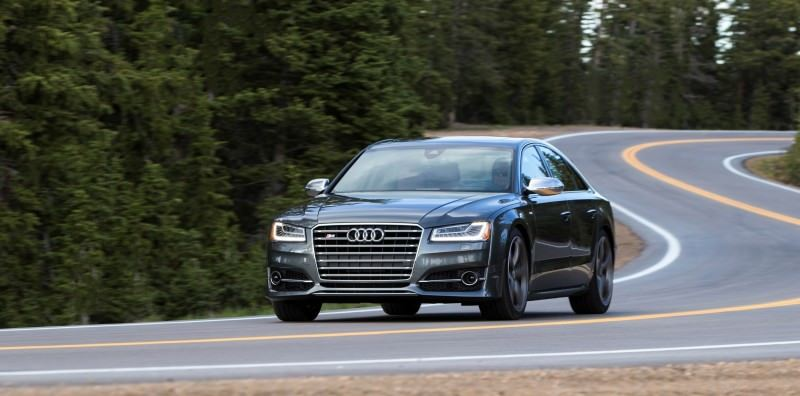 2015 Audi S8 with 520HP and 3.9s to 60MPH Is Quickest and Definitely The Coolest A8  56