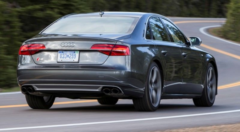 2015 Audi S8 with 520HP and 3.9s to 60MPH Is Quickest and Definitely The Coolest A8  57