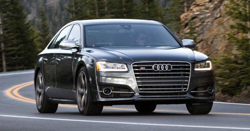 2015 Audi S8 with 520HP and 3.9s to 60MPH Is Quickest and Definitely The Coolest A8  59