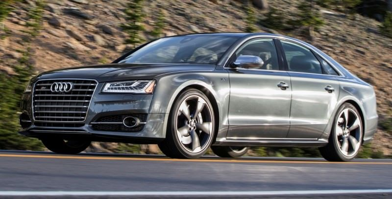 2015 Audi S8 with 520HP and 3.9s to 60MPH Is Quickest and Definitely The Coolest A8  6