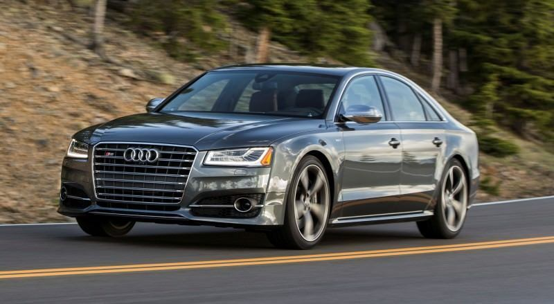 2015 Audi S8 with 520HP and 3.9s to 60MPH Is Quickest and Definitely The Coolest A8  60