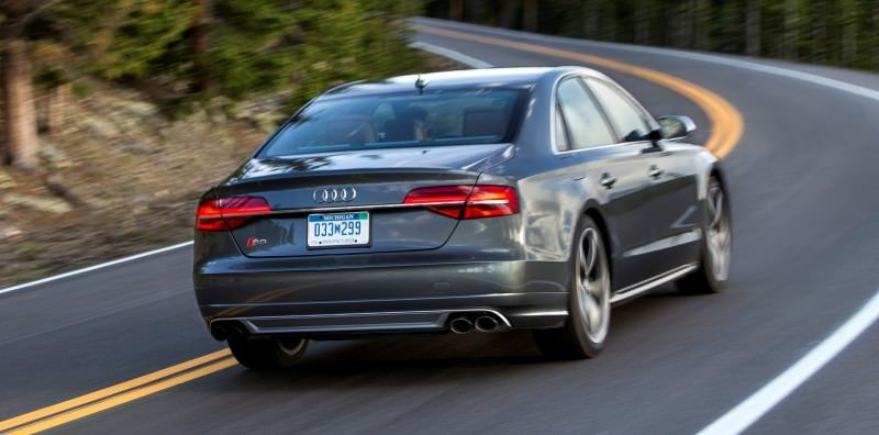 2015 Audi S8 with 520HP and 3.9s to 60MPH Is Quickest and Definitely The Coolest A8  63
