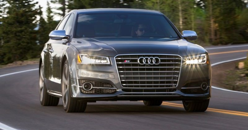 2015 Audi S8 with 520HP and 3.9s to 60MPH Is Quickest and Definitely The Coolest A8  65