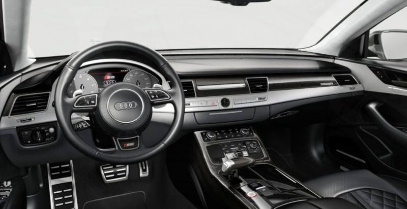 2015 Audi S8 with 520HP and 3.9s to 60MPH Is Quickest and Definitely The Coolest A8  68