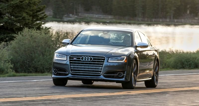 2015 Audi S8 with 520HP and 3.9s to 60MPH Is Quickest and Definitely The Coolest A8  7