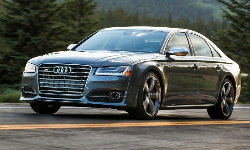 2015 Audi S8 with 520HP and 3.9s to 60MPH Is Quickest and Definitely The Coolest A8  8
