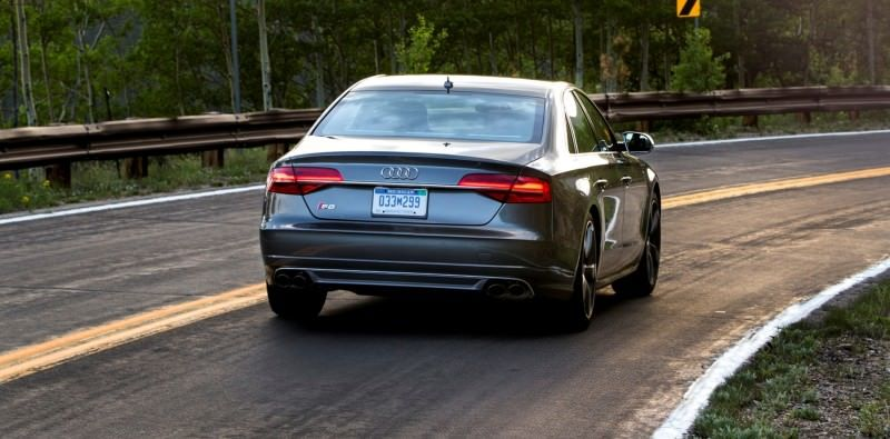 2015 Audi S8 with 520HP and 3.9s to 60MPH Is Quickest and Definitely The Coolest A8  9