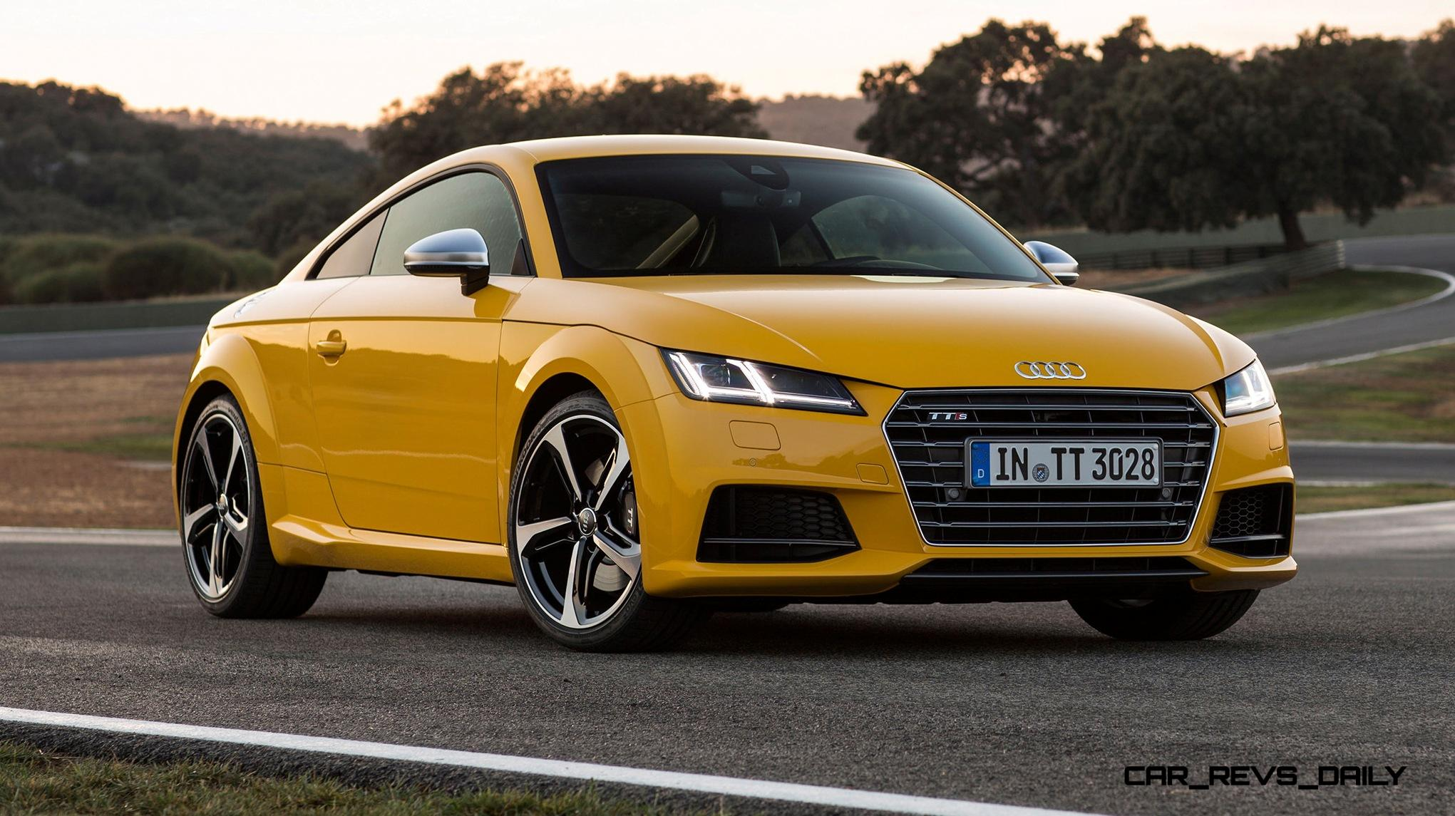 update1 new photos 2015 audi tt and tts bring much more. Black Bedroom Furniture Sets. Home Design Ideas