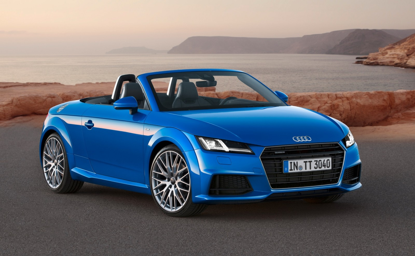 2015 Audi TT and TTS Roadster Revealed Before Paris Show 1