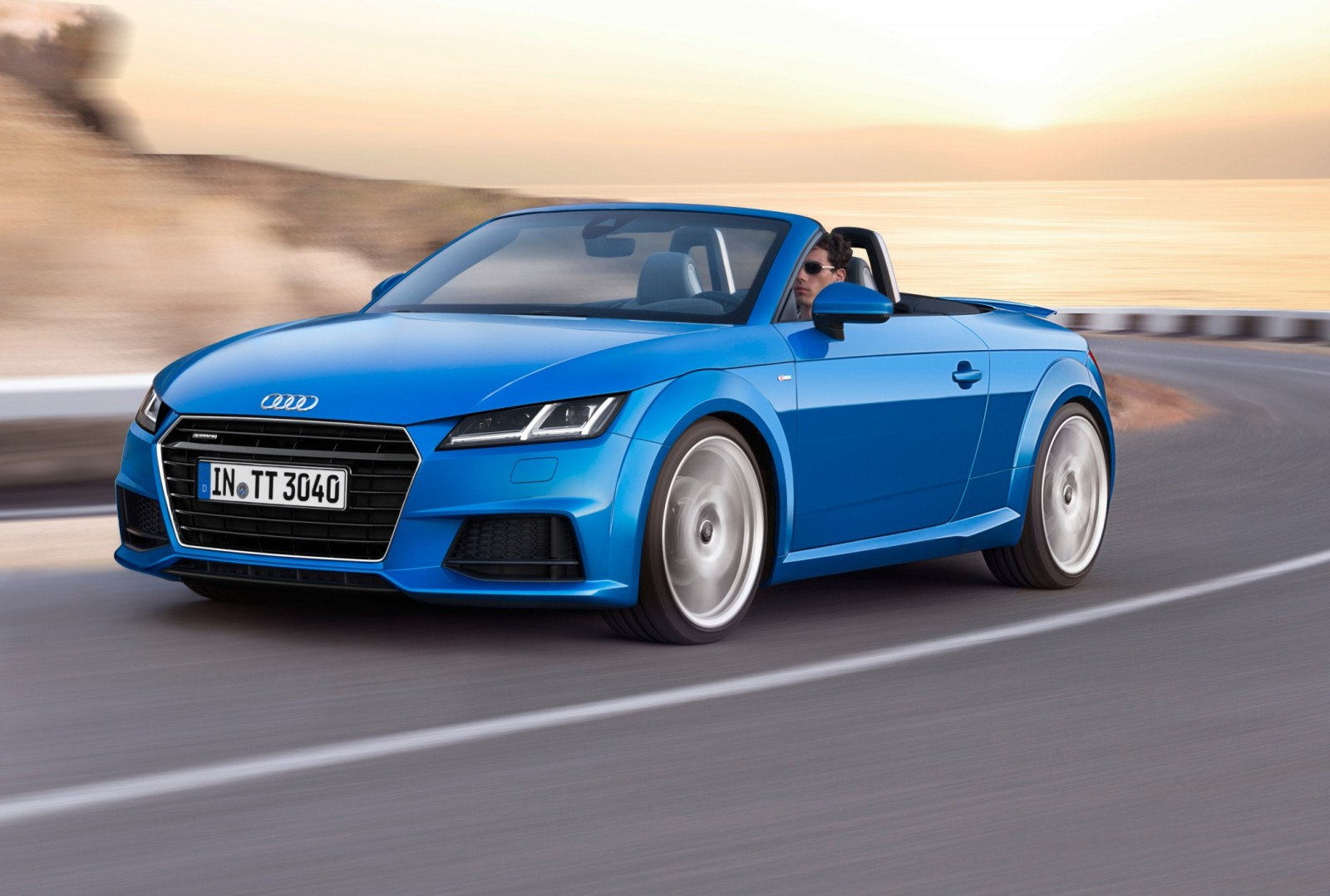 2015 Audi TT and TTS Roadster Revealed Before Paris Show 10