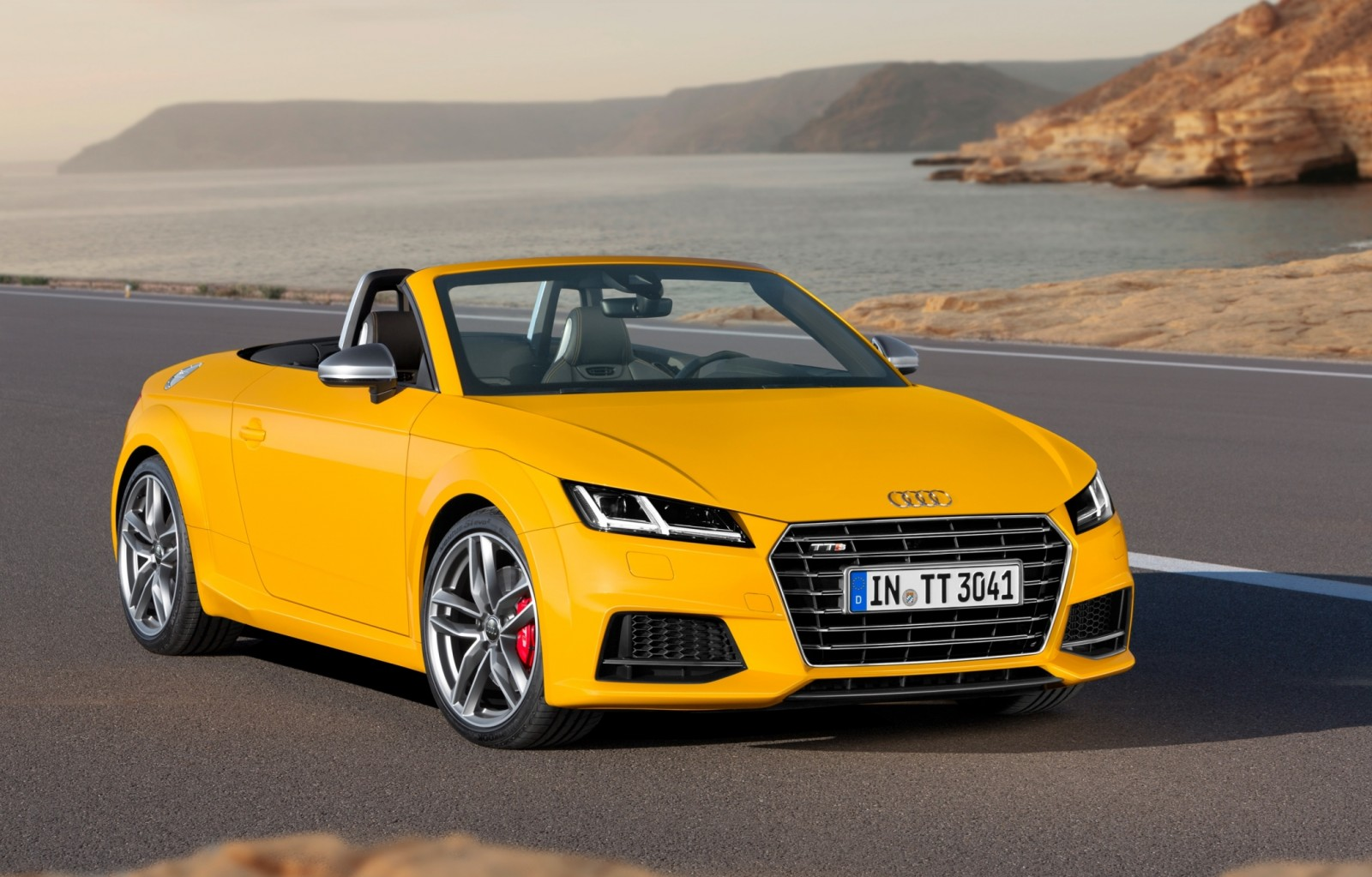2015 Audi TT and TTS Roadster Revealed Before Paris Show 14