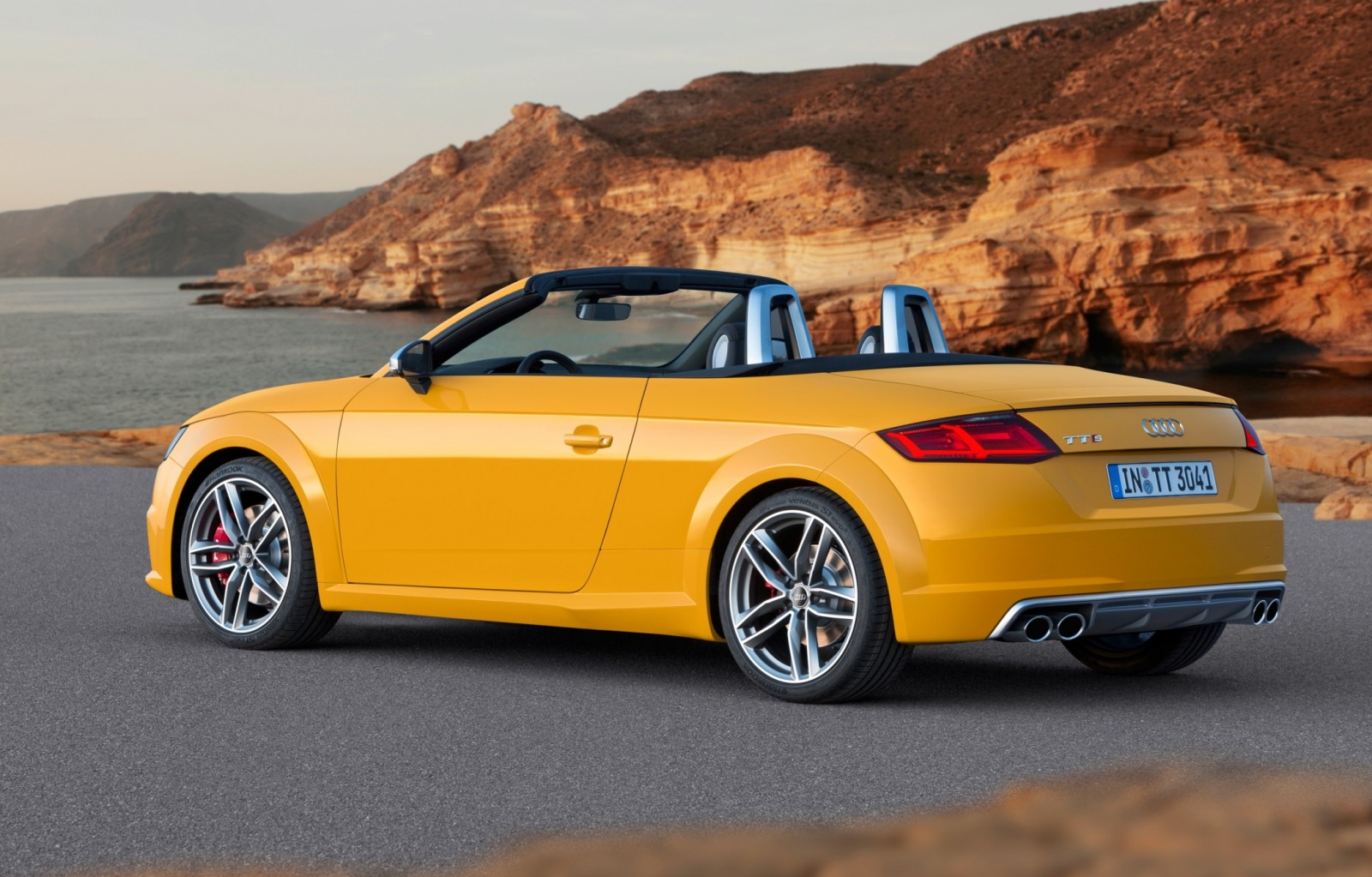 2015 Audi TT and TTS Roadster Revealed Before Paris Show 15