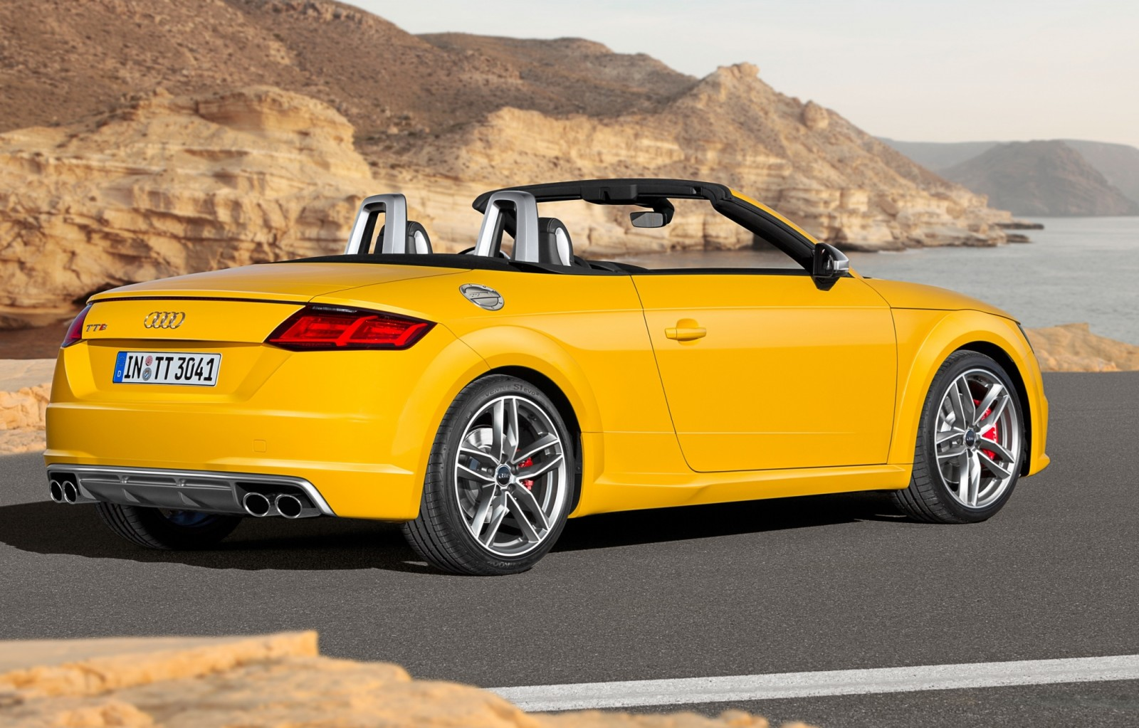2015 Audi TT and TTS Roadster Revealed Before Paris Show 16
