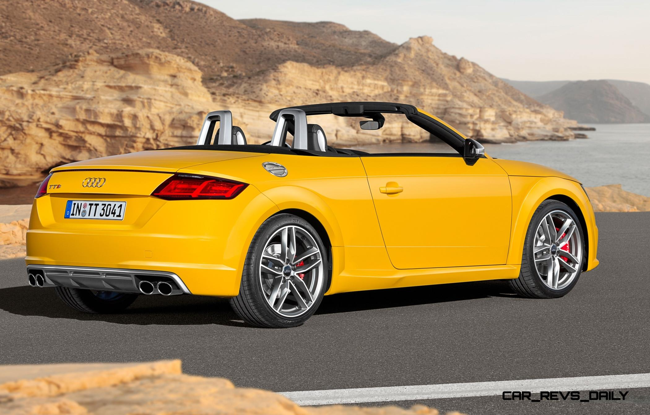 Attractive 2015 Audi TT And TTS Roadster Revealed Before Paris Show 16 ...