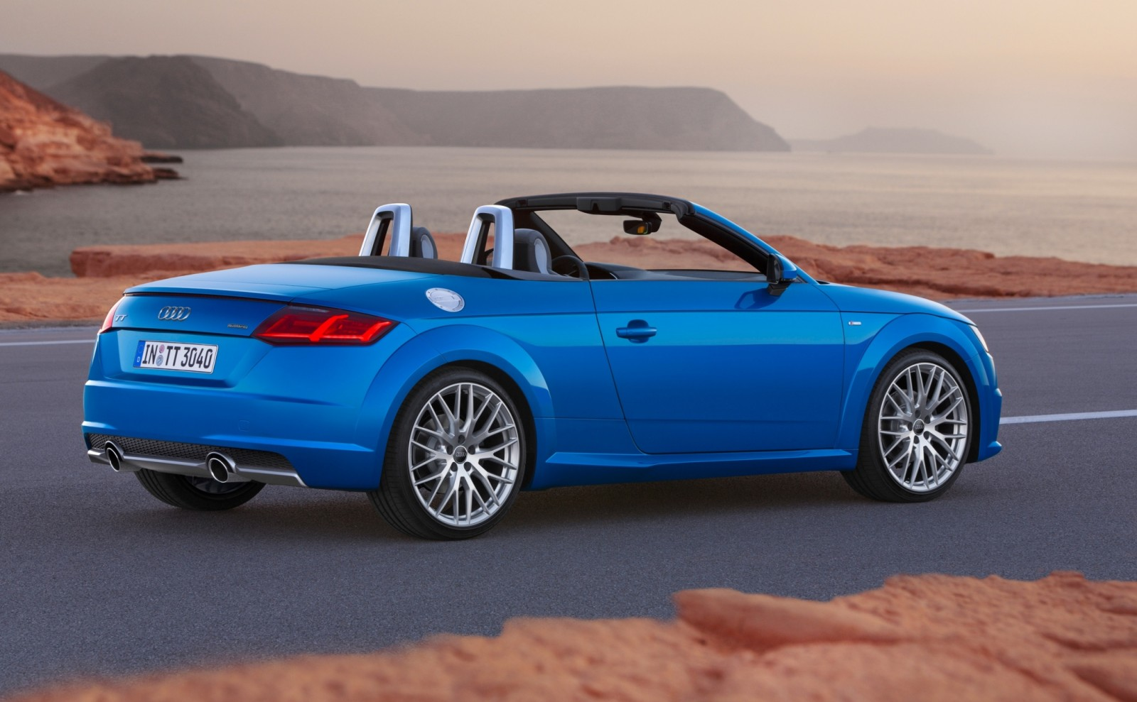 2015 Audi TT and TTS Roadster Revealed Before Paris Show 2