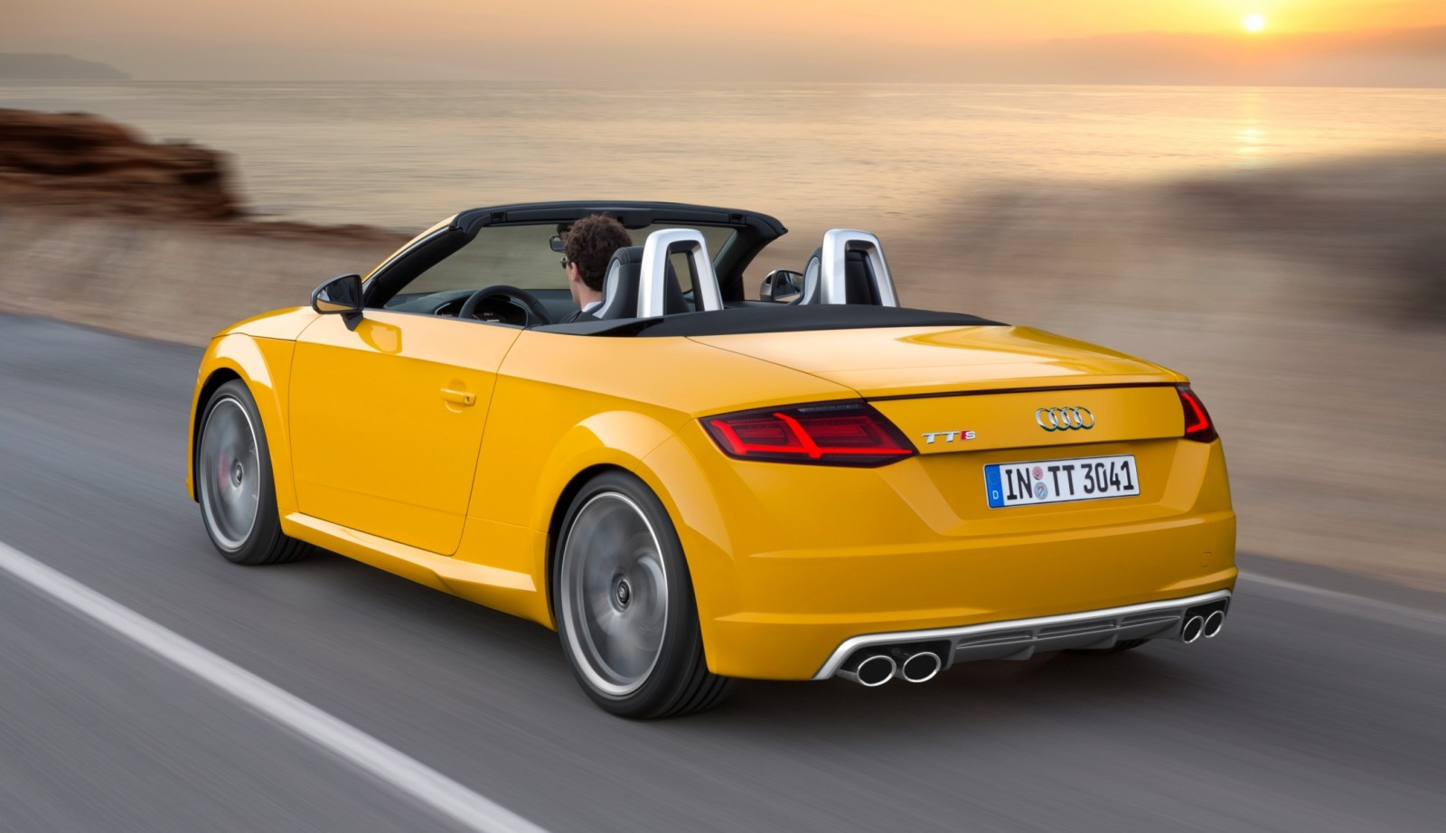 2015 Audi TT and TTS Roadster Revealed Before Paris Show 22