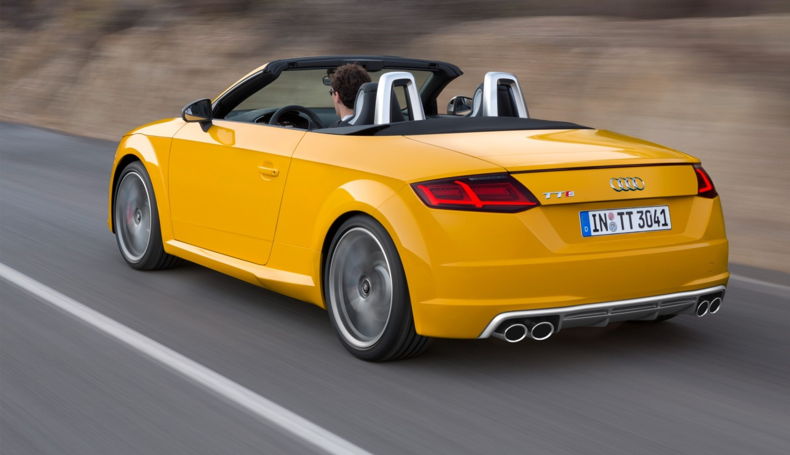 2015 Audi TT and TTS Roadster Revealed Before Paris Show 23