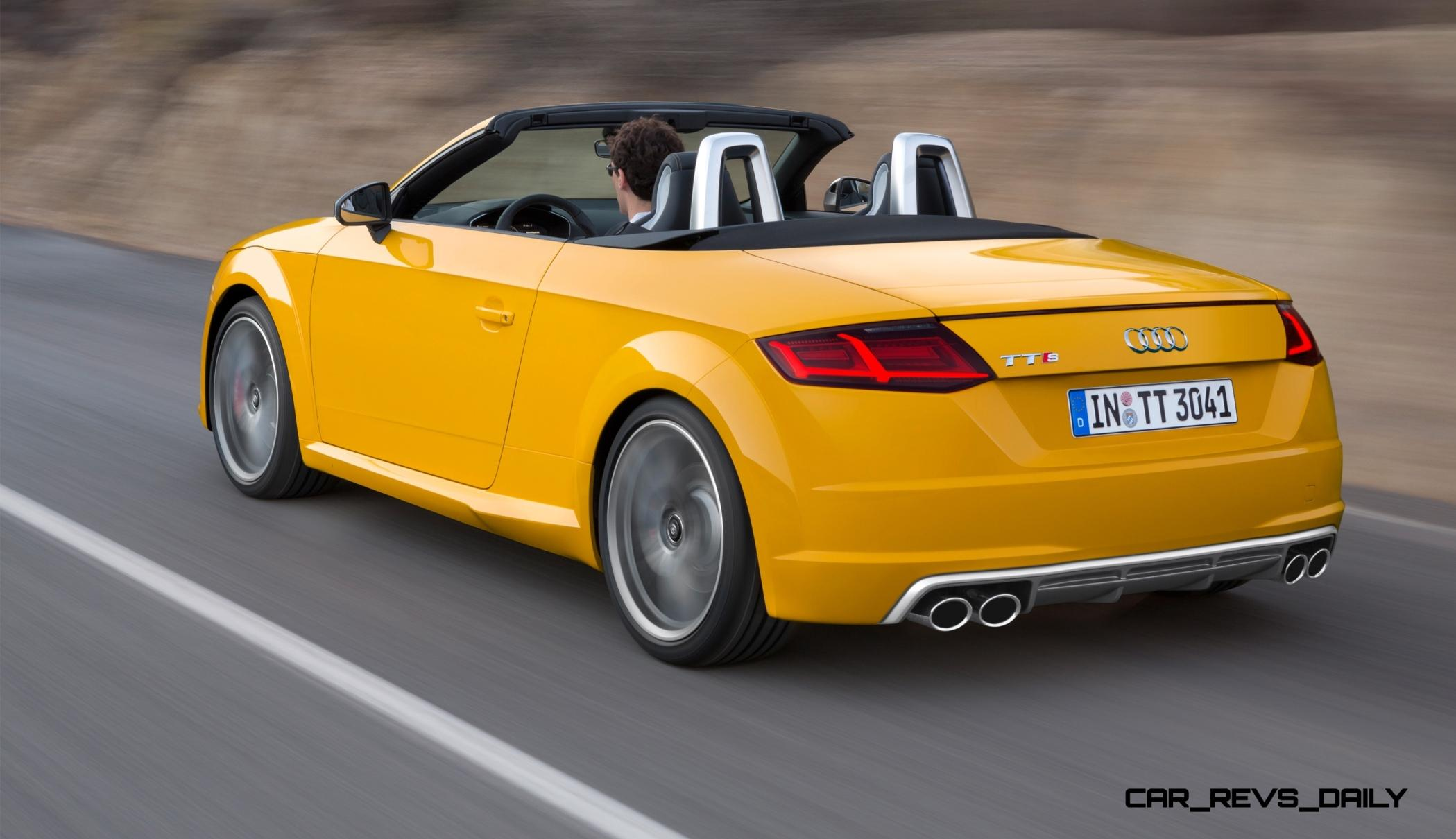 2015 audi tt and tts roadster revealed before paris show. Black Bedroom Furniture Sets. Home Design Ideas