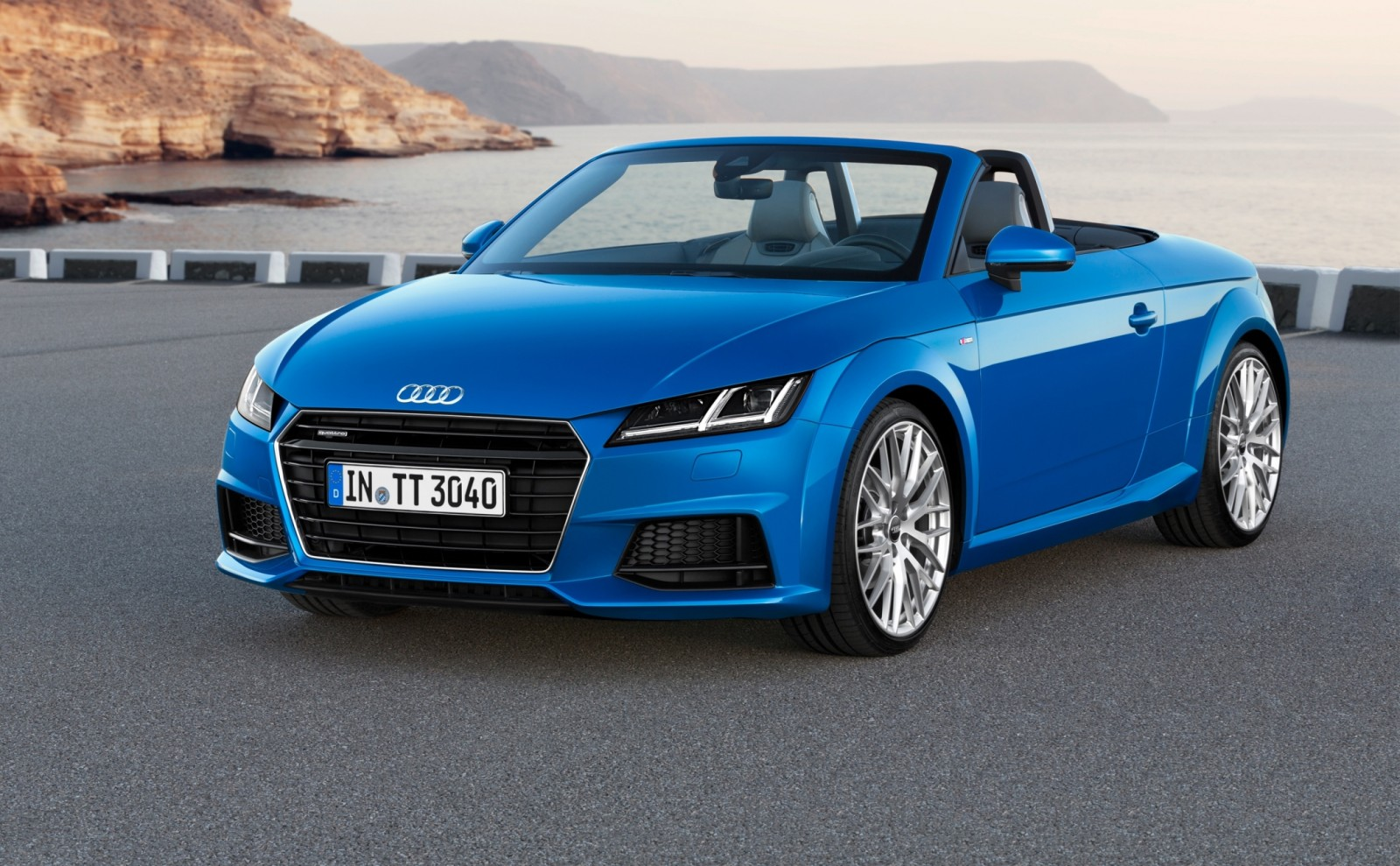 2015 Audi TT and TTS Roadster Revealed Before Paris Show 3